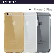 Clear Cover for iPhone 6 6S Plus 5.5'' Crystal Transparent Silicone Case Ultra Slim Plastic Protective Shell w/ Retail Packing