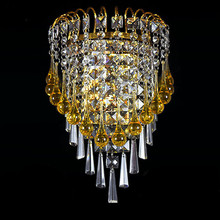 fashion K9 Crystal led Ceiling Lights Stainless Steel LED lamps bedroom study Crystal led Ceiling Lights