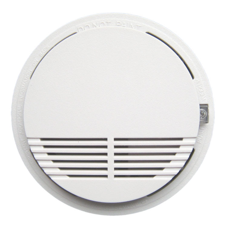 Smoke Alarm  Photoelectric  Battery Optical Smoke Detector  DC9V smoke detector<br><br>Aliexpress