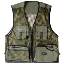 Men's Fly Fishing Vests Multi-functional Fly Fishing Jacket Outdoor Photography Jacket Camo Fishing Vest Fishing Clothes chaleco(China)