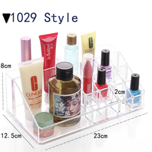 Organizador Hot Sale 2017 Acrylic Makeup Organizer Rangement Maquillage Crystal of Cosmetics Included In The of Home Storage(China)