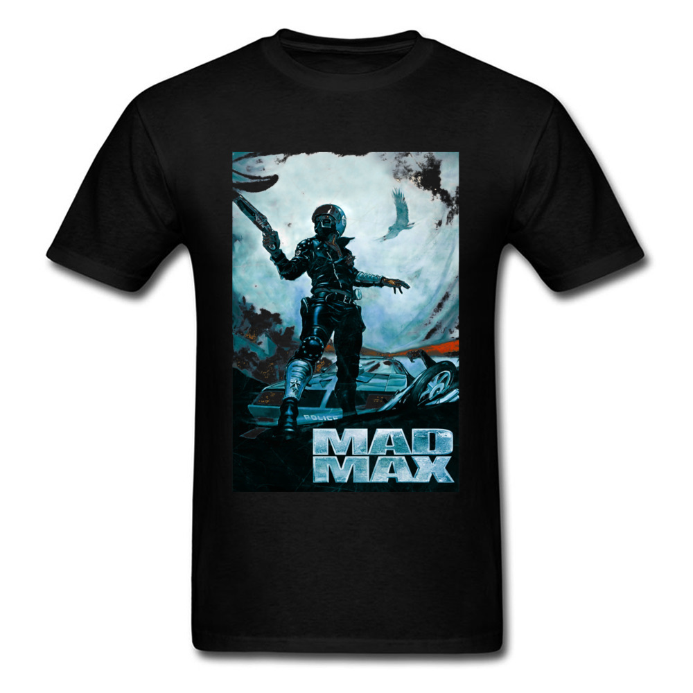 Prevalent Mad Max 23701 Short Sleeve T Shirt April FOOL DAY Crew Neck Pure Cotton Tops Shirts for Male T Shirt Party Mad Max 23701 black