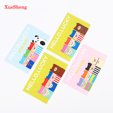 8 PCS/2 SET Cartoon Kawaii Stationery Bronze Magnetic Bookmark Clips for Student Gift School Office Supplies Book Mark