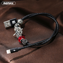 Remax Luxury Jewellery USB Cable For iPhone 7 6S 6 iPad iPod 2.4A Fast Charger Data Sync USB Cable For iPad Air Pro iOS 10.3