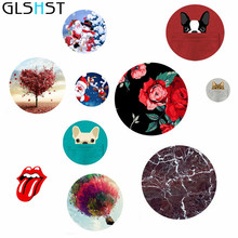GLSHST Fashion Phone Holder Stand Grip Mount Cartoon Painted For iPhone 7 Tablet Mobile Holder Desk For Xiaomi Pop