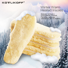 Men Wemen Winter Warm Heated Insoles Thermal Thickened Warm Keeping Soft Imitation wool Winter Snow Boots Shoe Insole Pad(China)