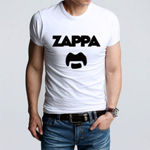 Summer Fashion Eccentric Rock Icon Frank Zappa Funny Print T-shirts Men Casual Short Sleeve T Shirts Top Tees Tshirts(China)