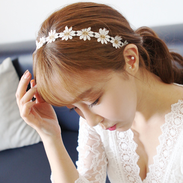 Department of forestry, girl little Daisy headbands han edition girls fashion and lovely hair band<br>