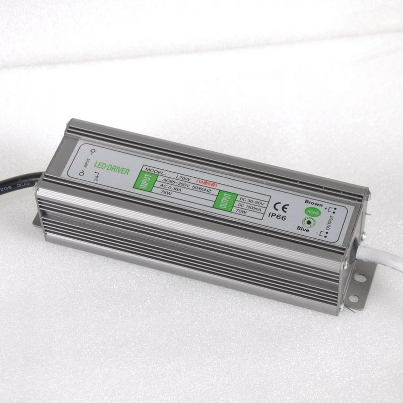 PHISCALE 1piece 70W 14S5P IP67 Waterproof LED Driver Power Supply Constant Current AC100-260V 1500mA for 70W LED Bulb<br>