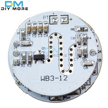 LED Microwave Radar Sensor Module 3-12W Microwave Radar Sensoring Switch Module Special for Spherical Lamp