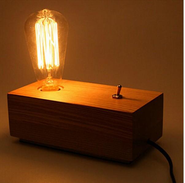 Edison Vintage Table Lamp Europe Style Personalized Reading Lamp Desk Lamp AC 110V-240V Vintage Lighting<br><br>Aliexpress