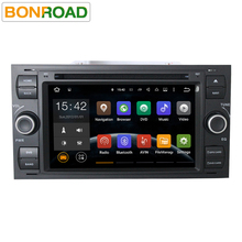 "7"" 2din Android 5.1.1 Quad Core 1.6G*4 Cortex A9 Car Video Player For Mondeo/Focus/Transit/C-MAX With Wifi GPS Navigation Radio"