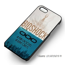 Bioshock A Man Chooses Phone Case Cover for iphone 4 5s 5c SE 6 6s 6plus 6splus Samsung galaxy s3 s4 s5 s6 s7 edge