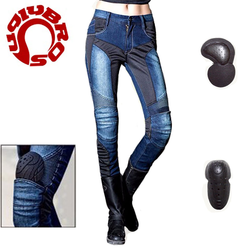 New Women Pantalones Motorcycle Uglybros Protection Jeans Motocross Racing Pants Oxford Cloth Wear-resisting Trousers<br><br>Aliexpress