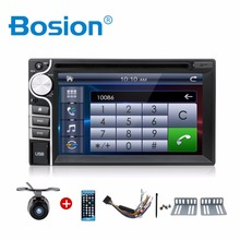 "2 din 6.2"" Touch Screen car dvd player USB SD Bluetooth FM 2din in dash Stereo Radio Bluetooth USB/SD"