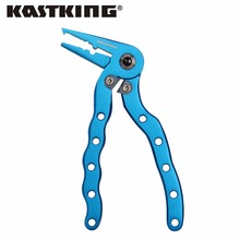 KastKing New Arrival 12cm Arrival Aluminum Fishing Pliers Multipurpose for Crimping, Cutting,Hook Remover Fishing Tool Tackle