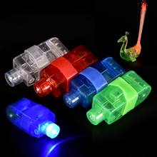 Glowing finger lights Pop LED Light Up Flashing Finger Rings Glow Party Favors Kids Children Toys(China)