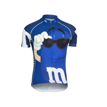 Men New Cartoon Brand Cycling Jersey Short Sleeve Clothing Arbitrary Choice Clothing Riding Bike Wear 2017 Classic Team Clothing