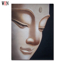 WEEN Buddha Wall Pictures For Living Room Modern Candle Stone Cuadros Decoracion Canvas Art Poster Printed Wall Artwork No Frame