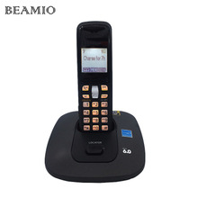 KX-TG6411T Digital Cordless Wireless  Fixed Telephone With Call ID Key Backlit Alarm Clock For Office Home Bussiness