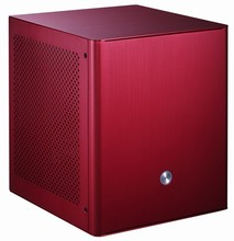 Jonsbo v3 aluminum mini itx computer case small red(China)