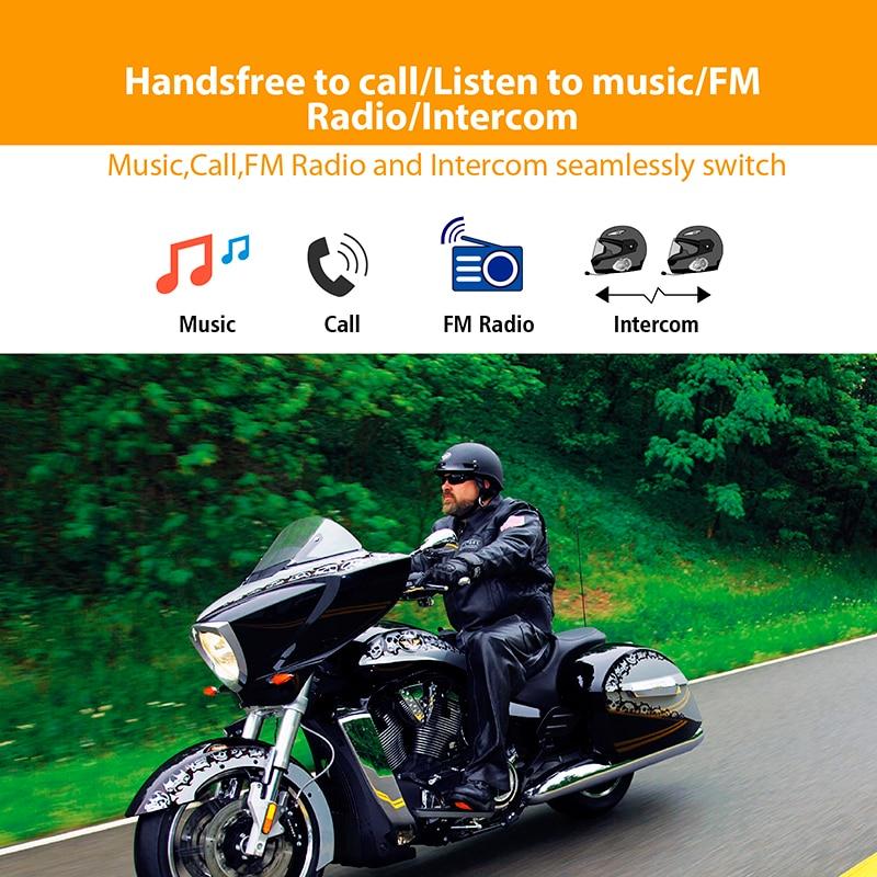 FreedConn-T-max motorcycle helmet bluetooth intercom 6 riders headset intercomunicado