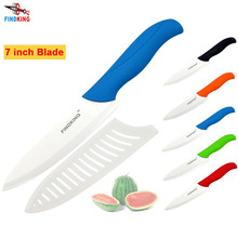 "FINDKING brand high quality 7"" inch chef kitchen ceramic knife Vegetable ceramic knife(China)"