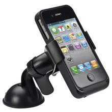 New Balck White Universal Car Windshield Mount Holder phone car holder For iPhone 5S 5C 5G 4S MP3 iPod GPS Samsung