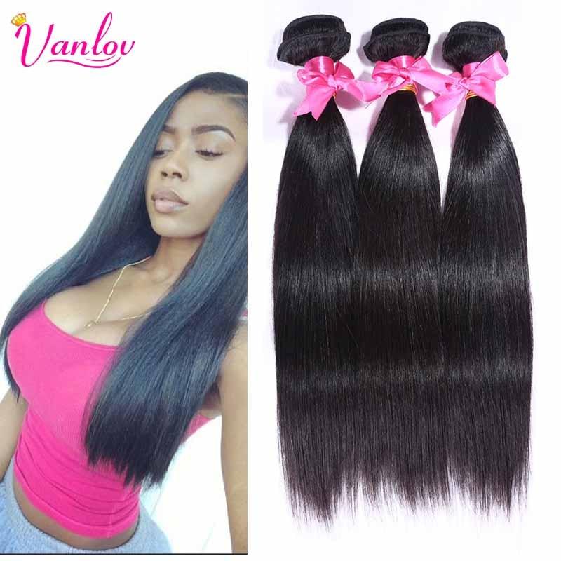 Malaysian Straight Hair Malaysian Virgin Hair 2 Pcs 7a Unprocessed Virgin Hair Wet And Wavy Human Hair Weave Natural Black 1B<br><br>Aliexpress