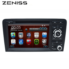 "FreeShipping 2Din 7"" Car DVD GPS for Audi RS3 A3 2003 2004 - 2011 2008 A3 DVD Car Radio Navigation RS3 2 DIN DVD A3 Navigation"