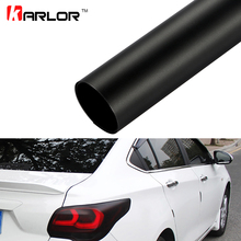 30*100cm Matt Black Automobiles Car Light Headlight Taillight Tint Vinyl Film Sticker Sheet Fog Light Rear Lamp Matt Smoke Film(China)