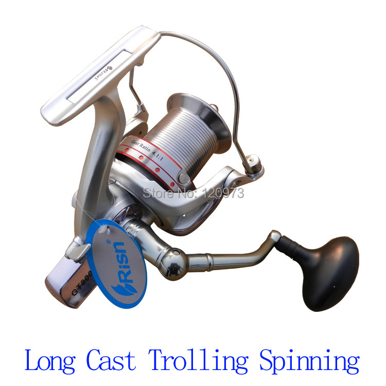 RISN GT6000 GT8000-14BB Surf Casting Reel Long Shot Wheel Sea Fishing Reels Cast Reel<br>