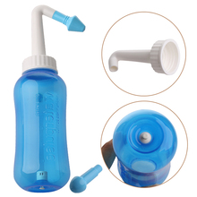 Adults Children Nose Wash System Clean Sinus Allergies Nasal Pressure Neti pot Non-electric Facial Cleansing Brush