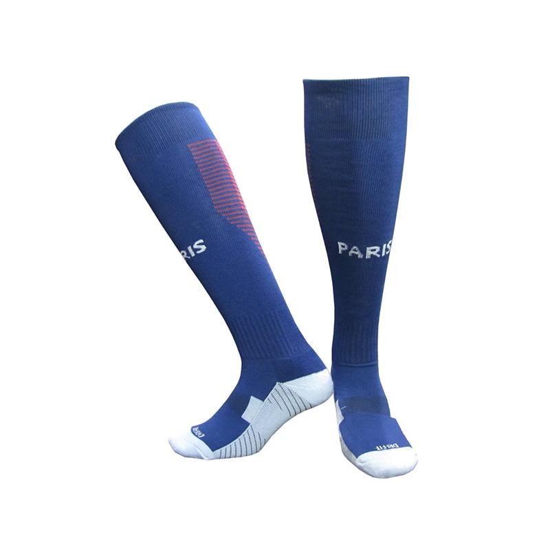 NO Logo National Team Germany Football Barreled Knees Slip Bottom Thick Stocking Spain Soccer Socks Compression Socks 19