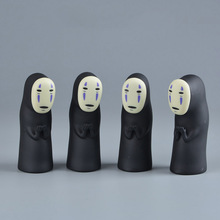Studio Ghibli Spirited Away No Face Man Vinyl Action Figure Miyazaki Hayao Anime Kaonashi Model 8cm Decoration Doll Kids Toys