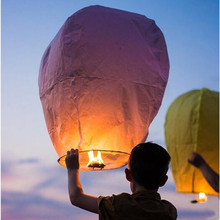 10 pcs/lot Chinese sky Lantern paper lantern, SKY Balloon Kongming wishing Lanterns for Wedding Birthday Party Celebration