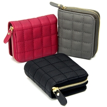 Hanup Fashion Women Short Wallets Ladies Vintage Small Wallet Women Zipper Roomy Female Coin Purse Cute Girl Wallet Purses
