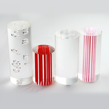 Samples Acrylic Rods Home Garden Decor Use for LED Building Material