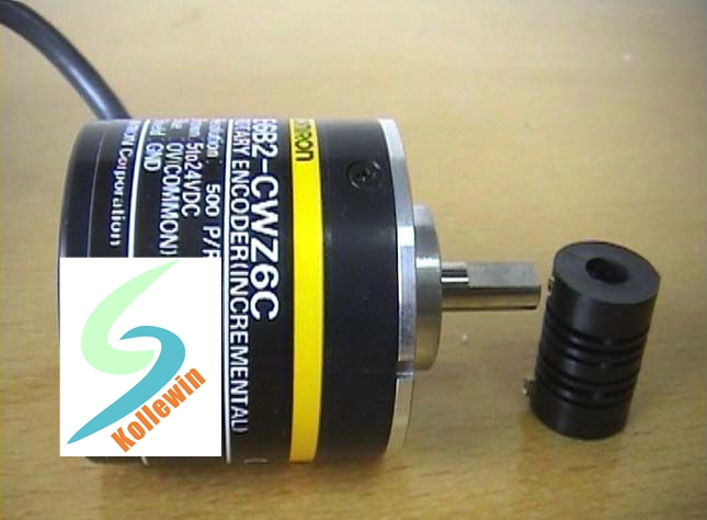 OMR  Rotary Encoder E6B2-CWZ6C 500P/R E6B2-CWZ6C 500PPR NEW in box  5-24VDC OPEN ABZ PHASE  Free Shipping<br>