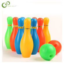 Bottle-Set Bowling-Ball Children Sports-Toy 11cm-Height GYH Colorful