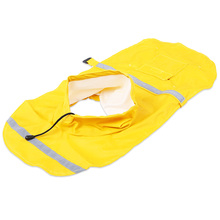 2 Colors Pet Dog Raincoats Waterproof Clothes For Small Dogs Raincoat Poncho Puppy Rain Jacket(China)