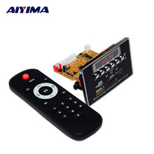 AIYIMA MP3 Player DTS Lossless HD Video Player Decode Board MP3 Decoder APE Player Bluetooth Audio Board(China)