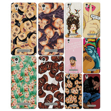 "Colorful Painted Cartoon Grid Phone Cases Covers ZTE Blade X3 D2 5.0"" Soft Silicon Fundas Capa ZTE Blade X3 free gift"