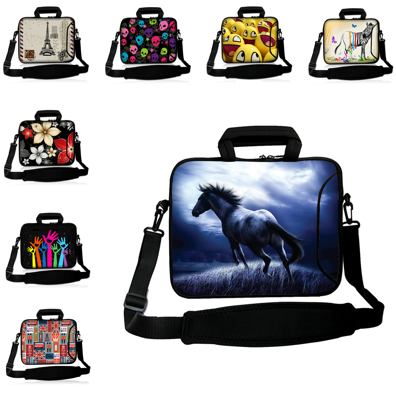 Sleeve Soft Laptop Cases 14 14.4 14.2 14.1 inch Shoulder Strap Messenger Notebook Bags For Asus Sony Acer HP Latest Computer Bag<br><br>Aliexpress