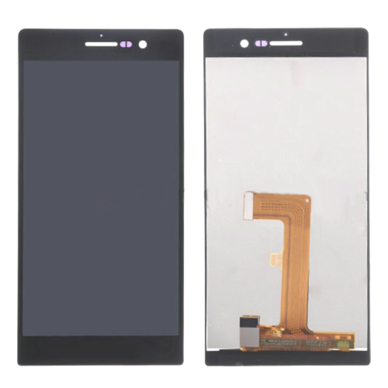 Original High Quality Display Screen With Touch Screen LCD Digitizer Integration For Huawei Ascend P7 Guarantee 100%<br>