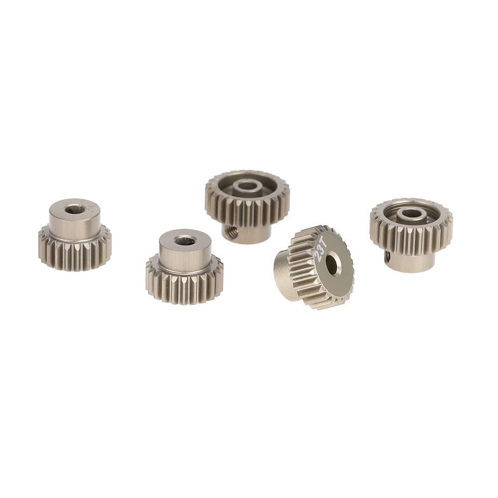 GoolRC 48DP 21T 22T 23T 24T 25T Metal Pinion Motor Gear Combo Set for 110 RC Car Brushed Brushless Motor Gears RC Model Part (5)