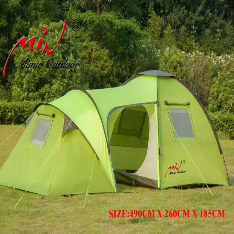 Wholesale 4 6 People Outdoor Camping Tent Two Rooms And One Hall