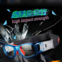 2017 Kids Child Professional Basketball Football Soccer Rugby safety Sports Glasses Goggles Eyewear Protective(China)