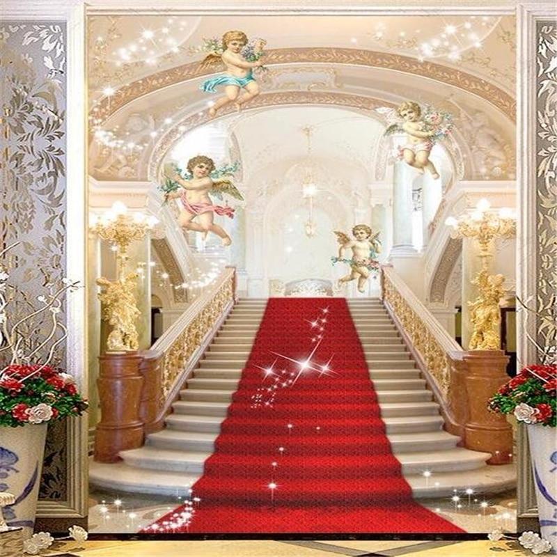 3d Fresco Wallpaper Photo Wedding Background Painting Background Palace Ladder Photo 3D Living Room Bedroom Wall paper<br><br>Aliexpress