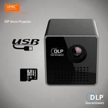 P1/P1+/P1H MINI Handhold Micro DLP LED LCD 3D Home Theater Projector beamer proyector with Battery Built-in with TF /Micro USB(China)